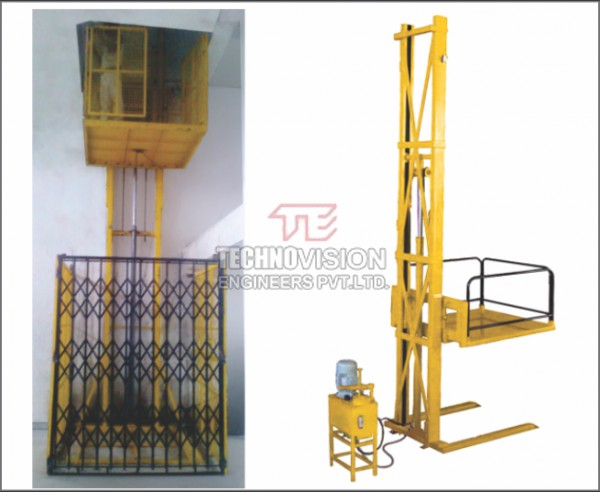 Goods Lift Single Mast